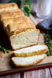 moist and tender Japanese milk bread