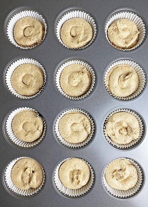 cinnamon sugar cupcake third layer