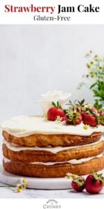gluten free strawberry jam cake pin 04