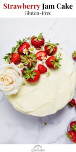 gluten free strawberry jam cake pin 03