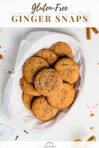 gluten free ginger snaps pin 01