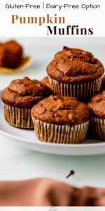 gluten free pumpkin muffins pin 01