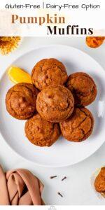 gluten free pumpkin muffins pin 04